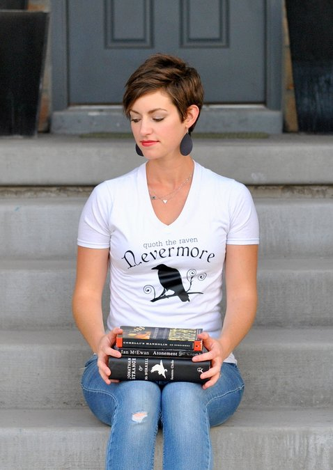 DIY Poe-Inspired t-shirt