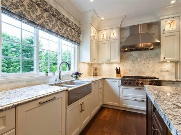 Un aire moderno en la cocina cl sica decorar tu casa es for Cocinas blancas clasicas
