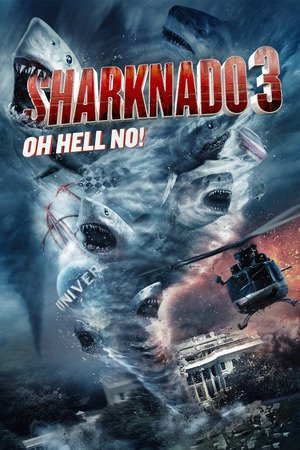 Poster Sharknado 3: Oh Hell No! 2015