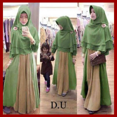 baju gamis muslimah
