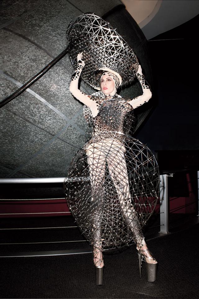 Lady Gaga en Harpers Bazaar Magazine marzo 2014