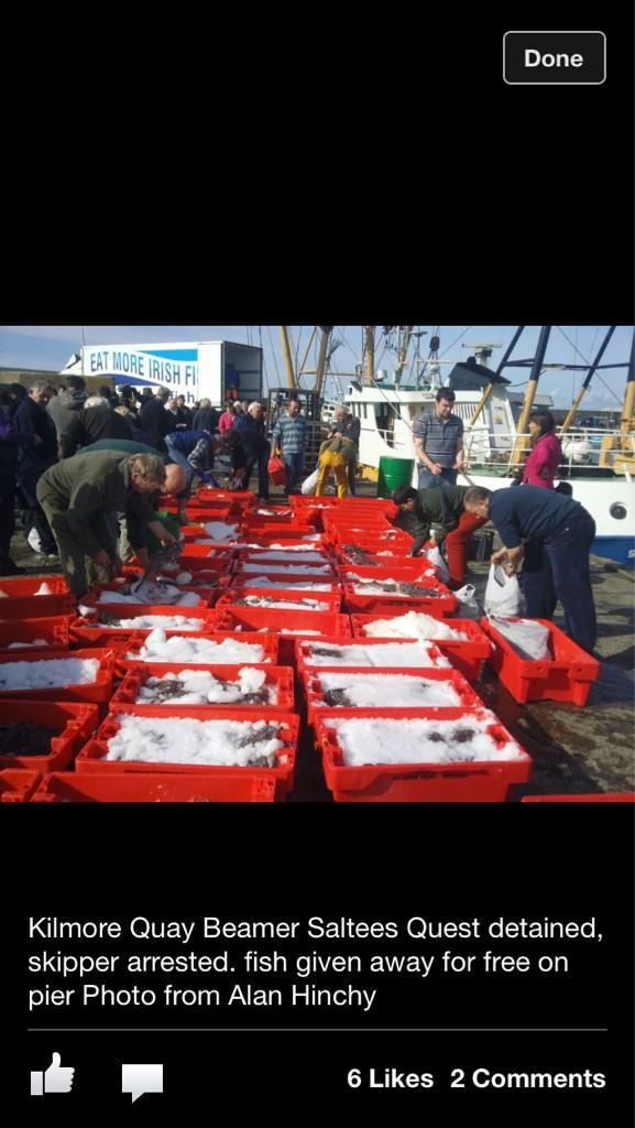 Through the gaps newlyn fishing news kilomore quay for The fish radio station