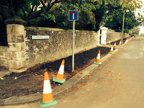 Pavement Upgrading in Broughty Ferry 2013