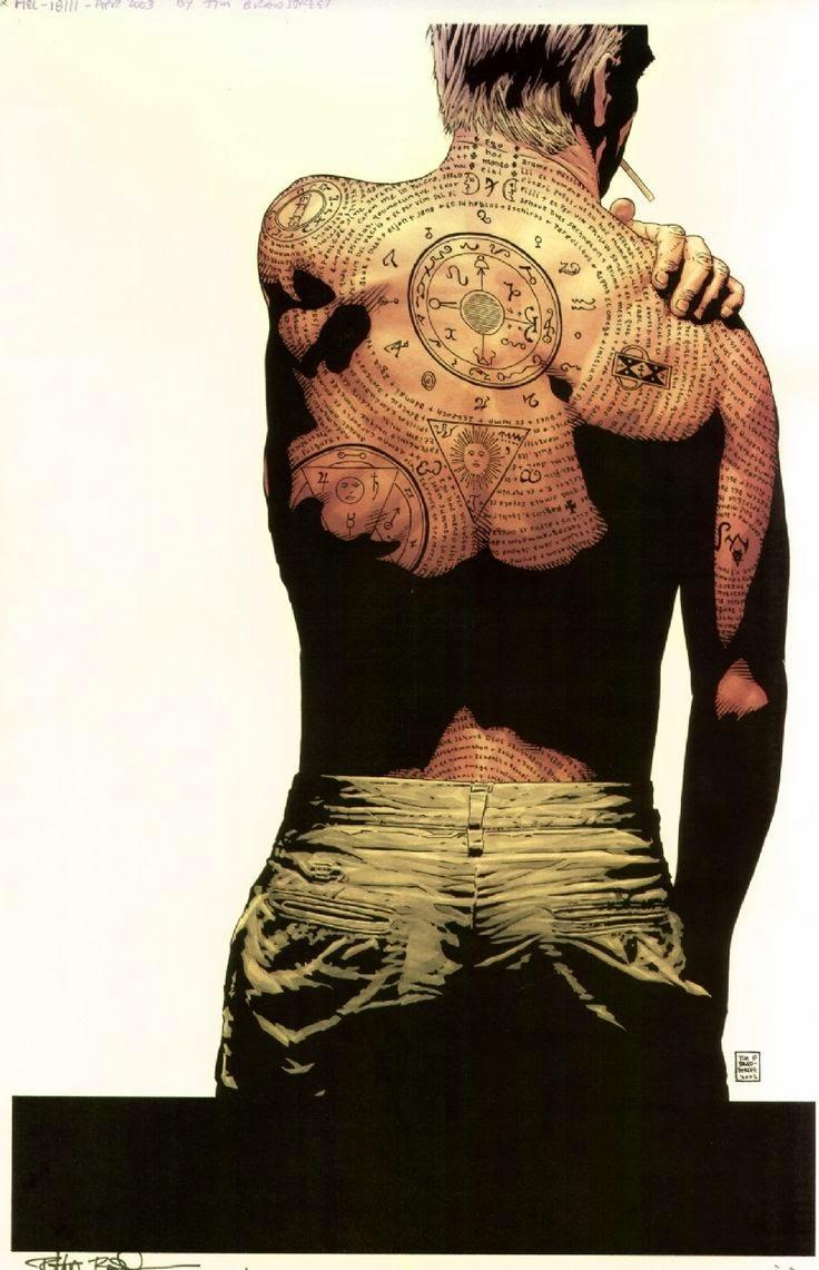 Constantine Tatuagem