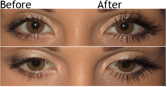 step by step how to apply individual flare lashes
