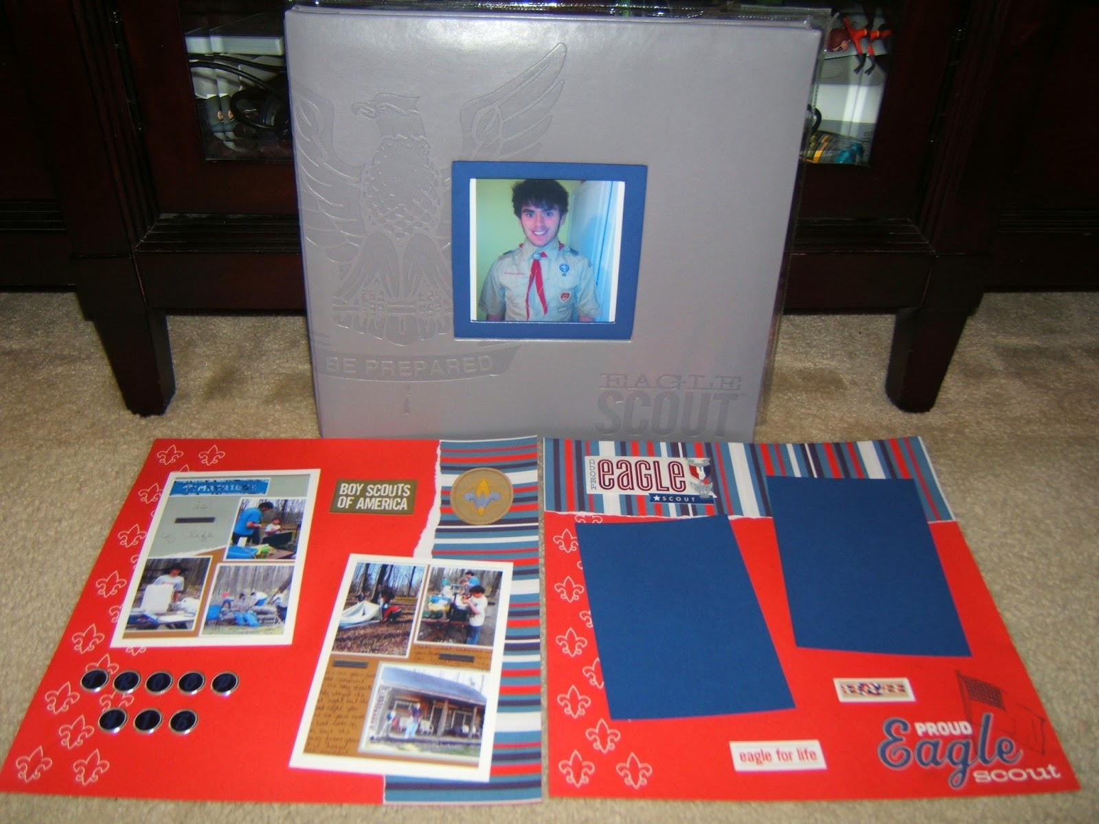 Made Just For You Scrapbooks Boy Scout Scrapbook Album