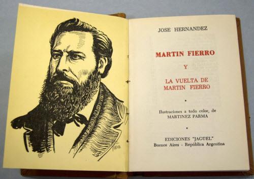 """""""Martín Fierro"""", de José Hernández"""
