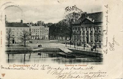 Postcard from Den Haag: Hofvijver