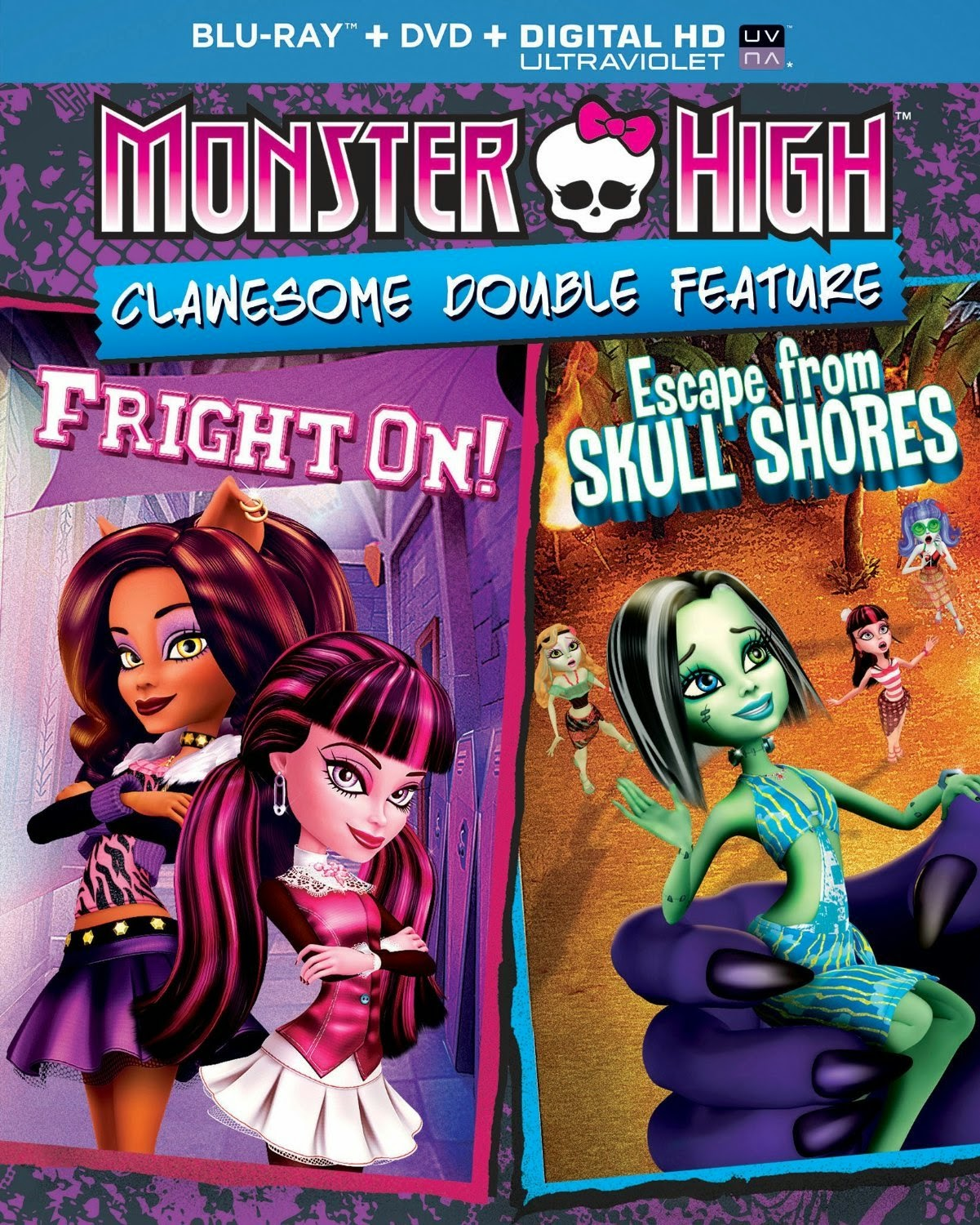 monster Monster High: Clawesome Double Feature Dublado (2014)
