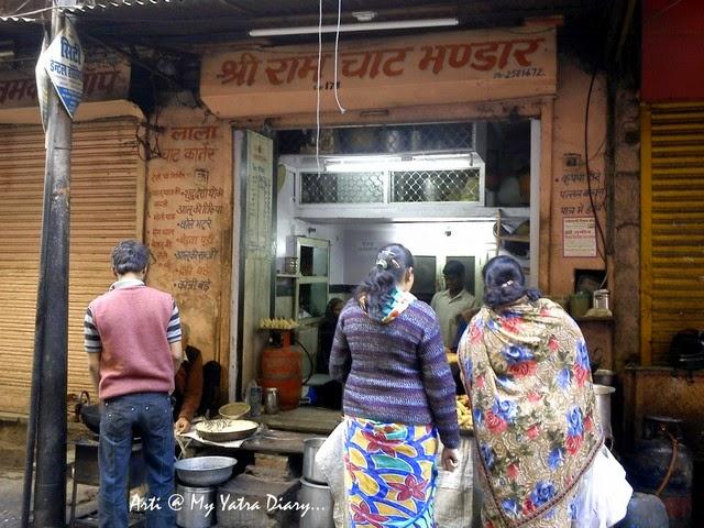 Shri Ram Chaat Bhandar, Gheewalon ka Raasta, Jaipur food, Rajasthan