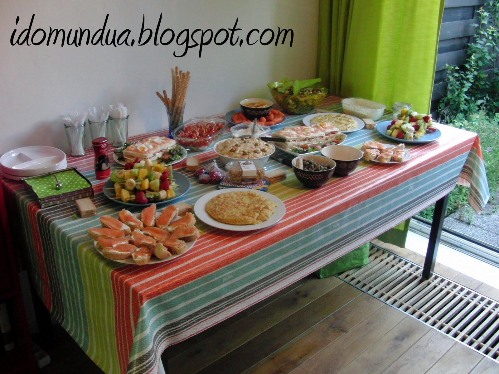 Idomundua picoteo cumplea ero men e ideas for Sugerencias para hacer de comer