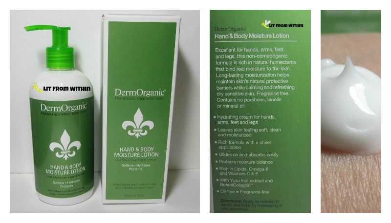 DermOrganic Hand and Body Moisturizing Lotion