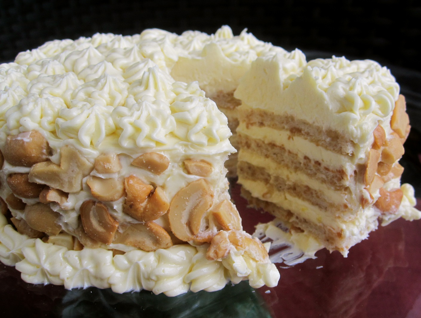 Filipino Cake Recipes With Pictures : The Cultural Dish: Daring Bakers: Sans Rival