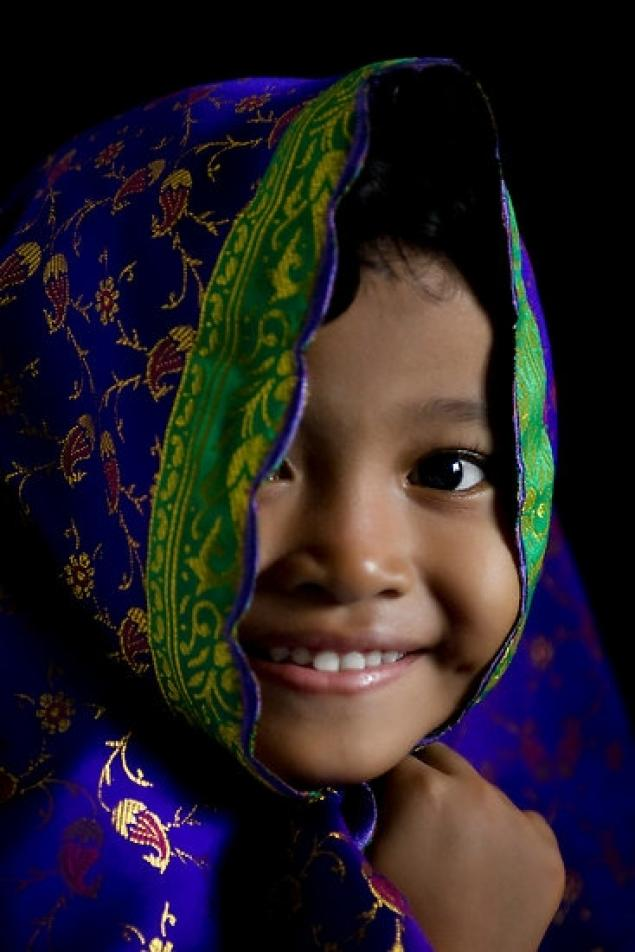 Beautiful Indonesian baby girl