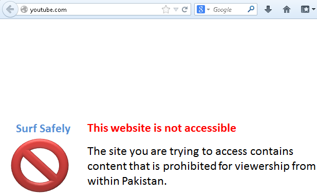 Techgulf how to access youtube on ptcl dsl without proxy or software as you already know that ptcl pakistan telecom corporation limited has blocked the access of youtube ccuart Images
