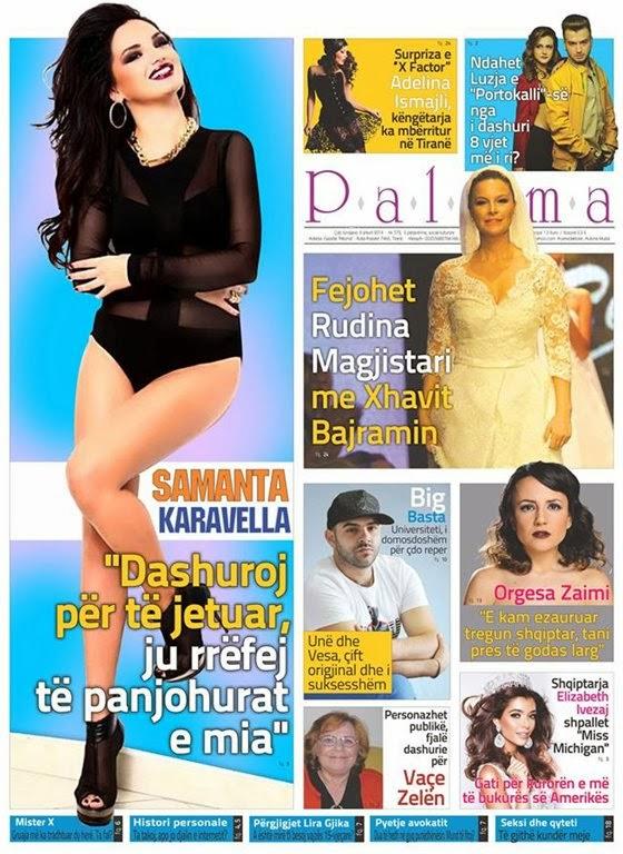 Revista PALOMA - 8 Shkurt 2014
