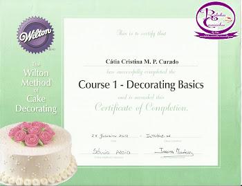 Diploma Wilton - Course 1