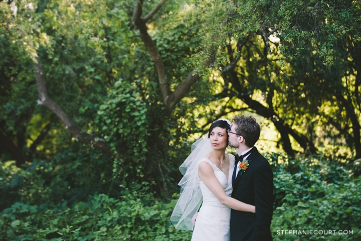 """wedding party photos at mountain lake park"""