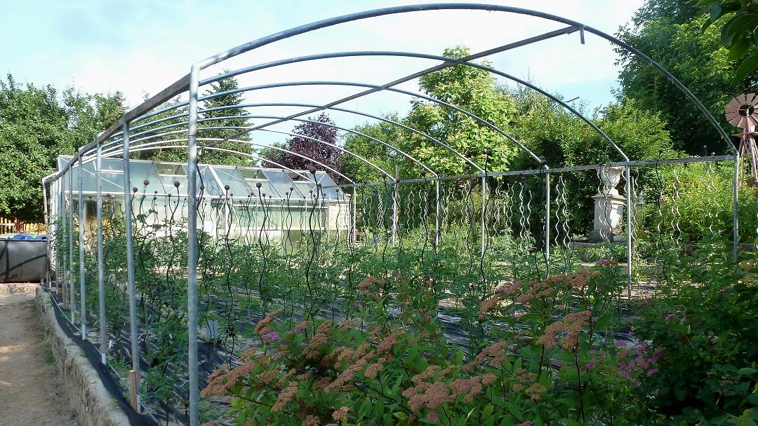 kleiner gem sek nig tomatendach tomatenhaus bauen teil 2. Black Bedroom Furniture Sets. Home Design Ideas