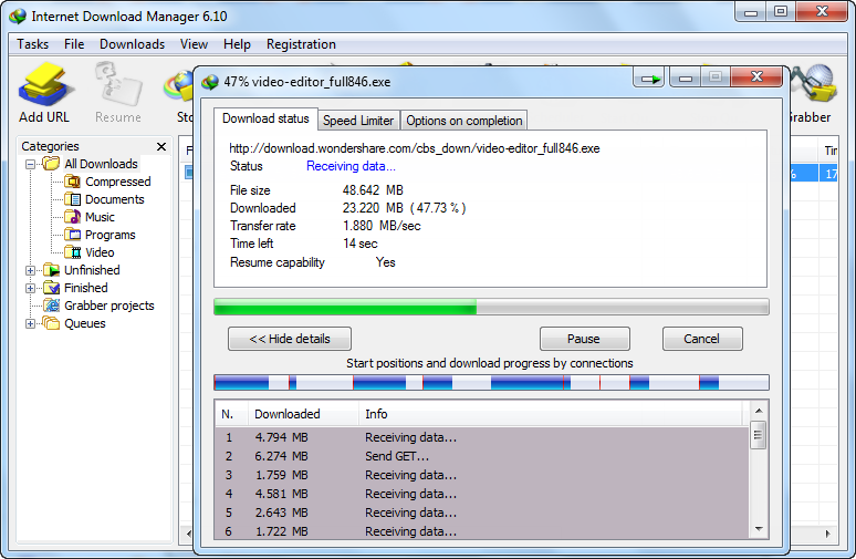Internet Download Manager V6.3 - Patch Included - Free Software and ...