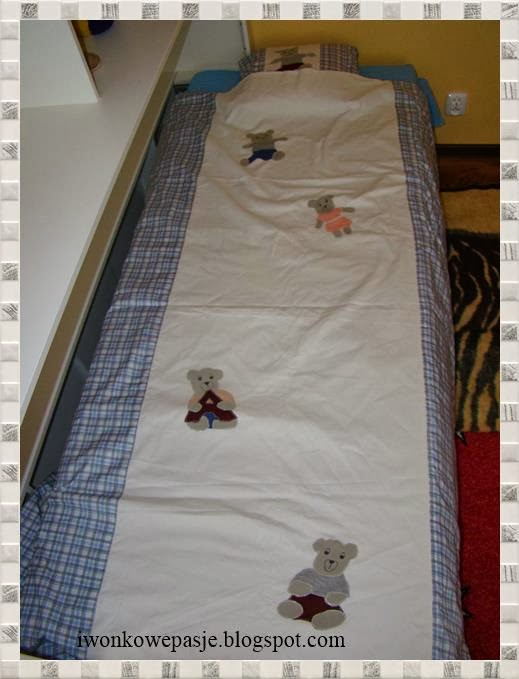 bed-clothes, application,  teddy bears, for baby