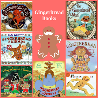 gingerbread themed picture books, christmas activities for kids