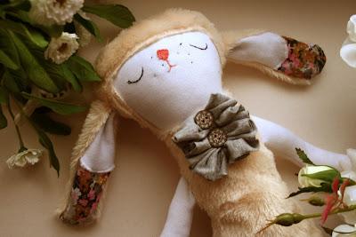 zając, hand made bunny