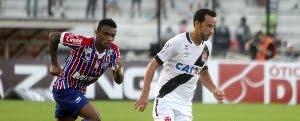 Vasco 4 x 3 Bahia: Veja os gols