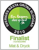 2:a i Sveriges gröna bloggar 2010