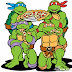National Pizza Day: Teenage Mutant Ninja Turtles Homage.