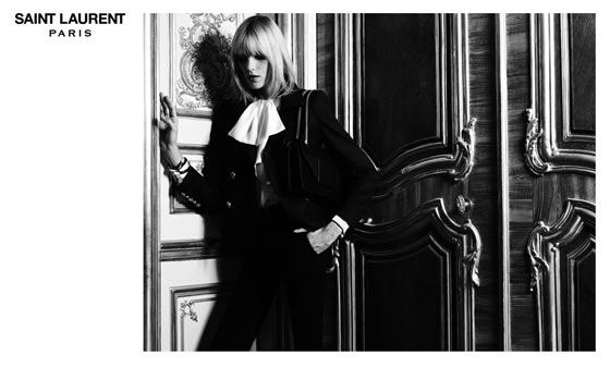 anja rubik saint laurent