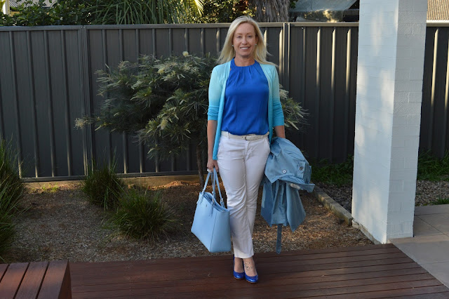 Sydney Fashion Hunter The Wednesday Panst #47 - Azure Ombre