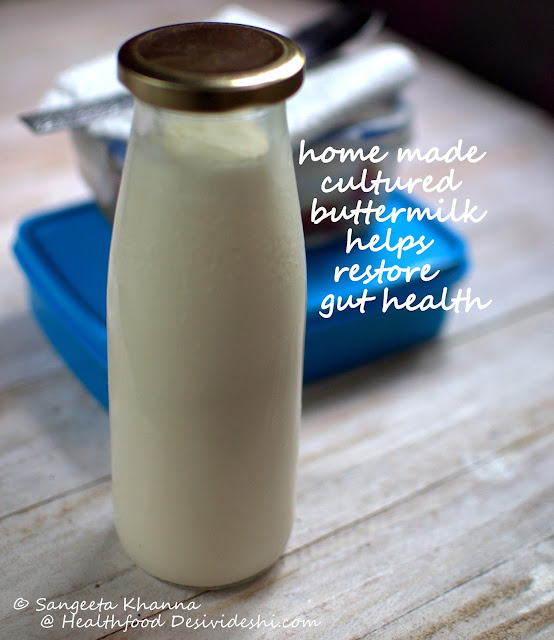buttermilk in a bottle
