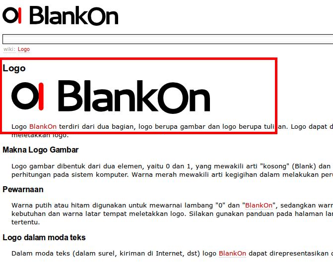 Logo baru BlankOn Linux