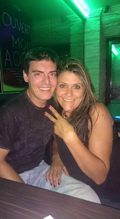Carlos Señaris Calviño y Karine Oliveira.