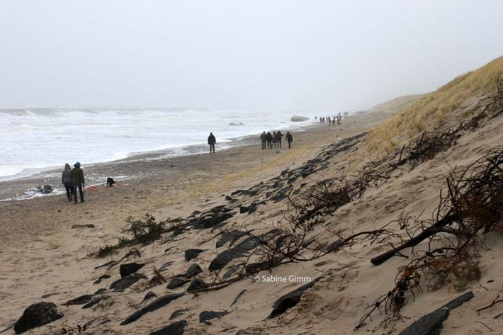 Hvide Sande in Dänemark - Silvester 2012