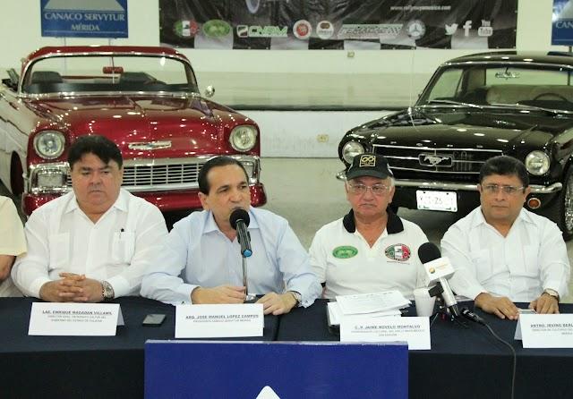 Presentan en la CANACO Mérida el Rally Maya 2015