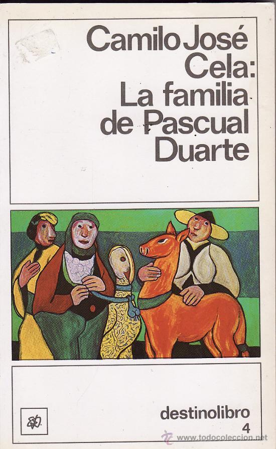 violencia en pascual duarte Localización del autor y de la obra la obra es la familia de pascual duarte de camilo josé cela, escritor español del siglo xx argumento en la novela, cela.
