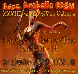 Halloween 2014 - Arabella BDSM Valencia
