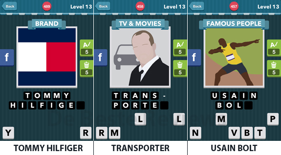 Icomania Level 13: cheats, hints, oplossingen en antwoorden