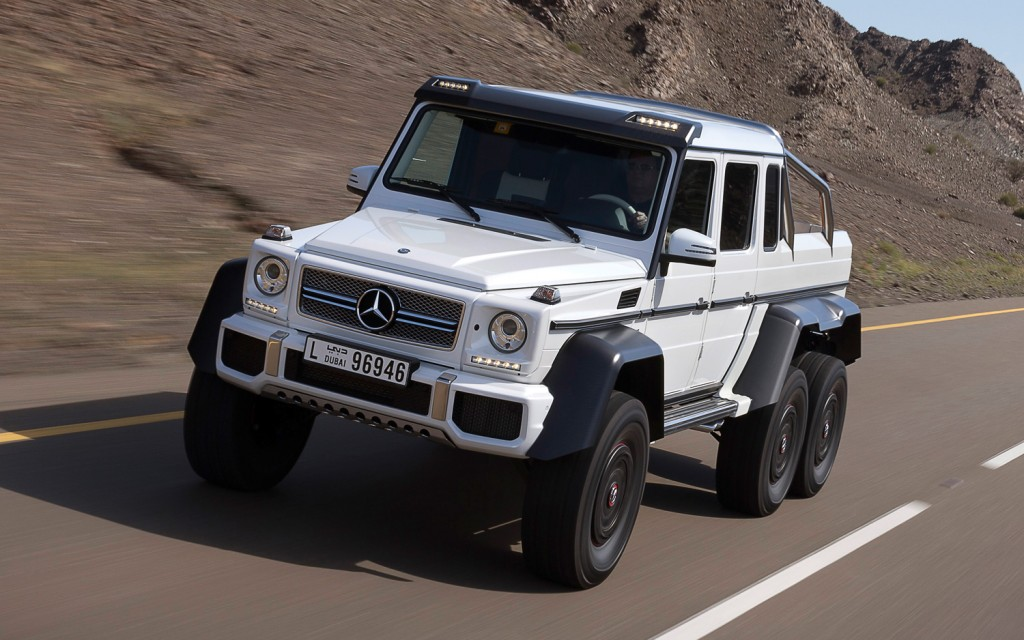 Mercedes benz g class 4x4 and 6x6 les bons viveurs l b v for Expensive mercedes benz suv