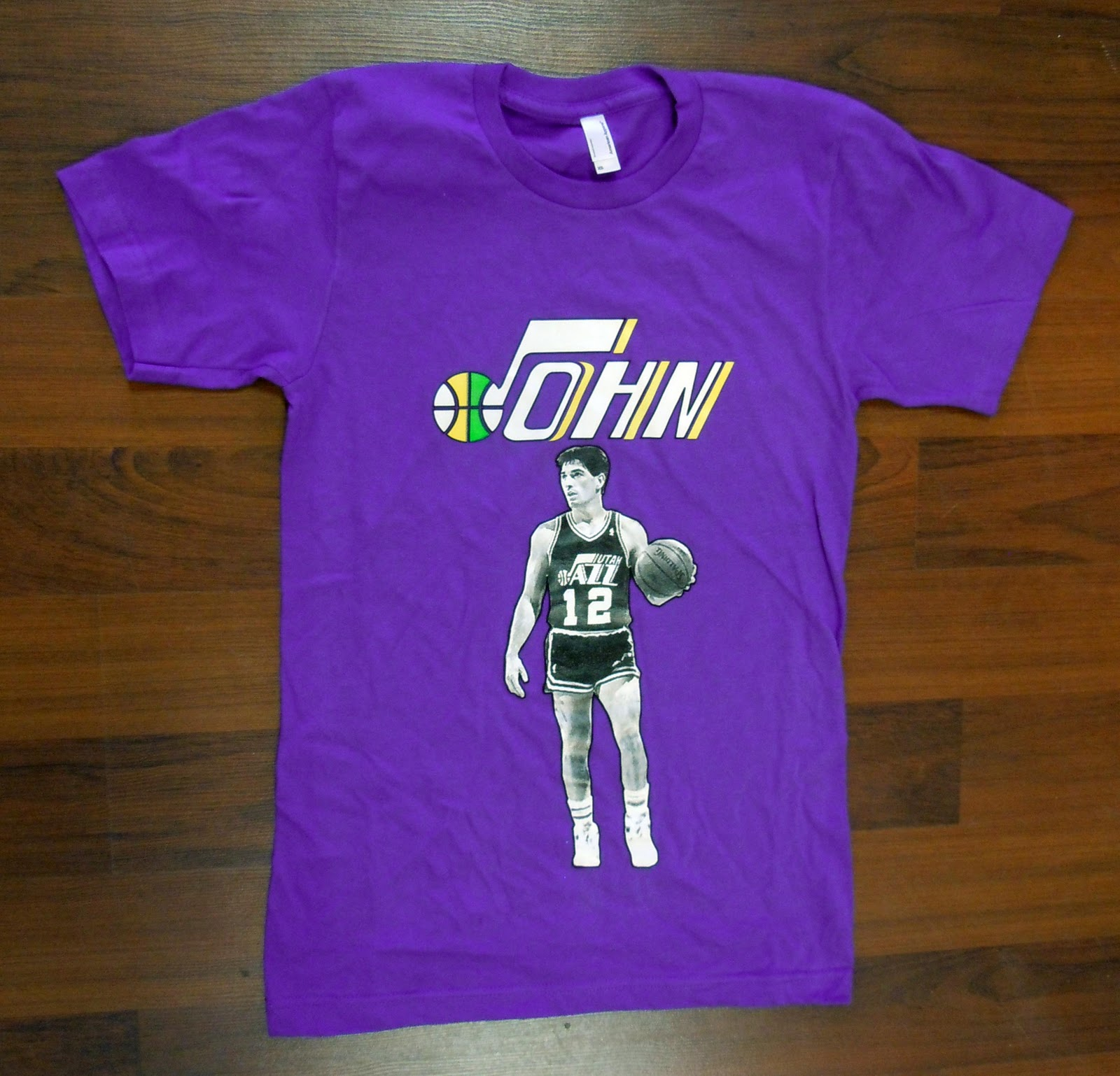 blonde grizzly john stockton shirts blonde grizzly