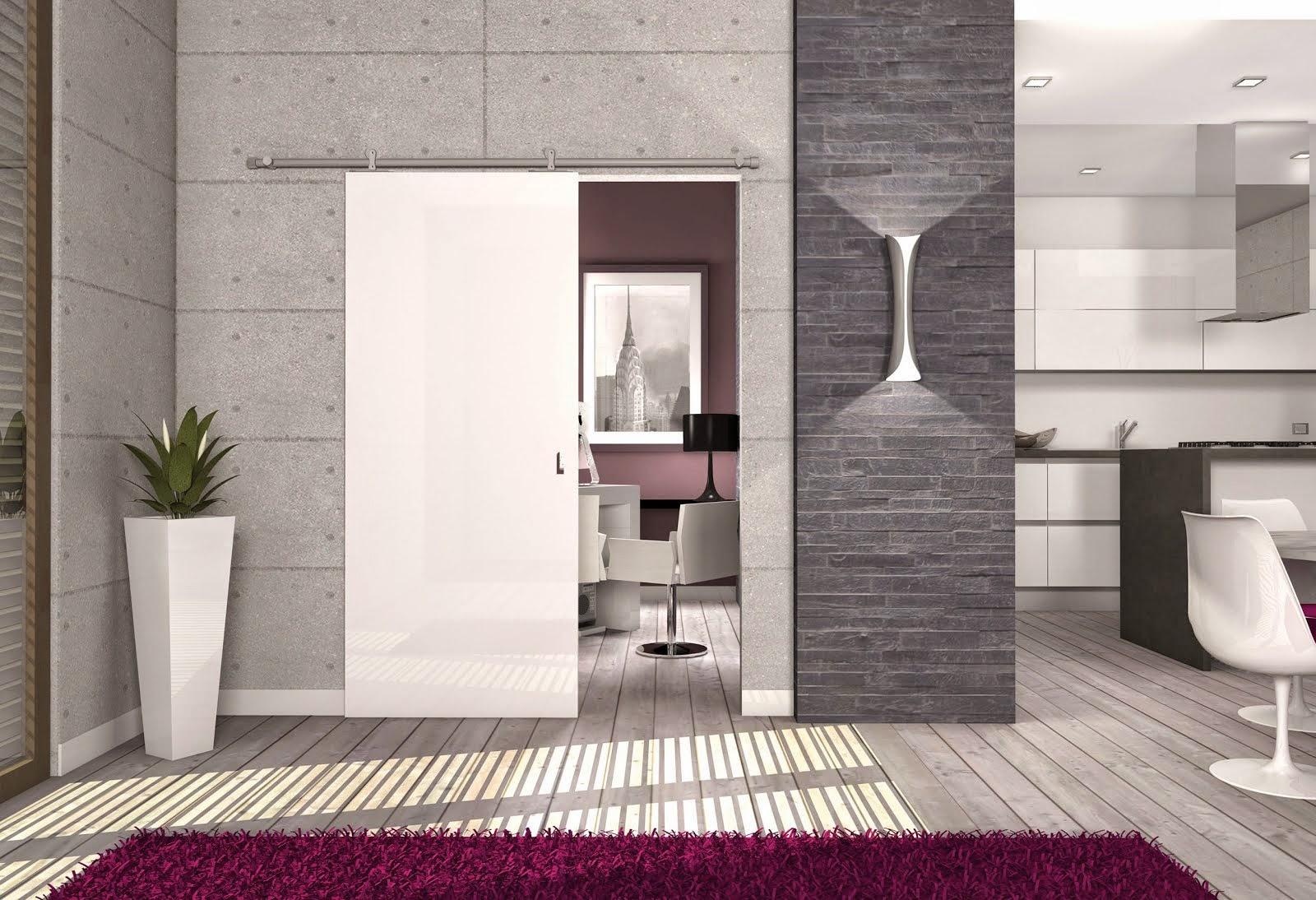 Arredo e design protek presenta gli scorrevoli esterno muro - Porte scorrevoli esterno muro ...