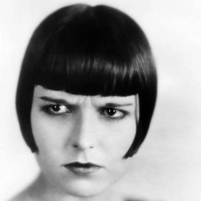 A somewhat hard to look stylish, cutting Louise Brooks is still fashionable among women in the worlds of art and fashion.