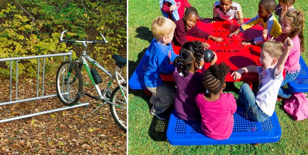 nature bike and picnic