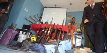 Armas en Bolivia