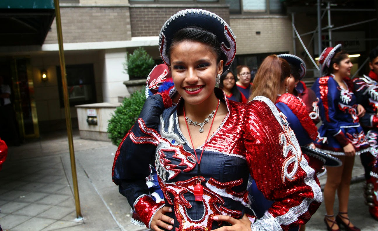 Fraternidad Folklorica Cultural Caporales Universitarios de San Simon New York