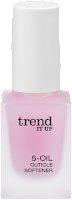 Preview: Die neue dm-Marke trend IT UP - 5-Oil Cuticle Softener - www.annitschkasblog.de