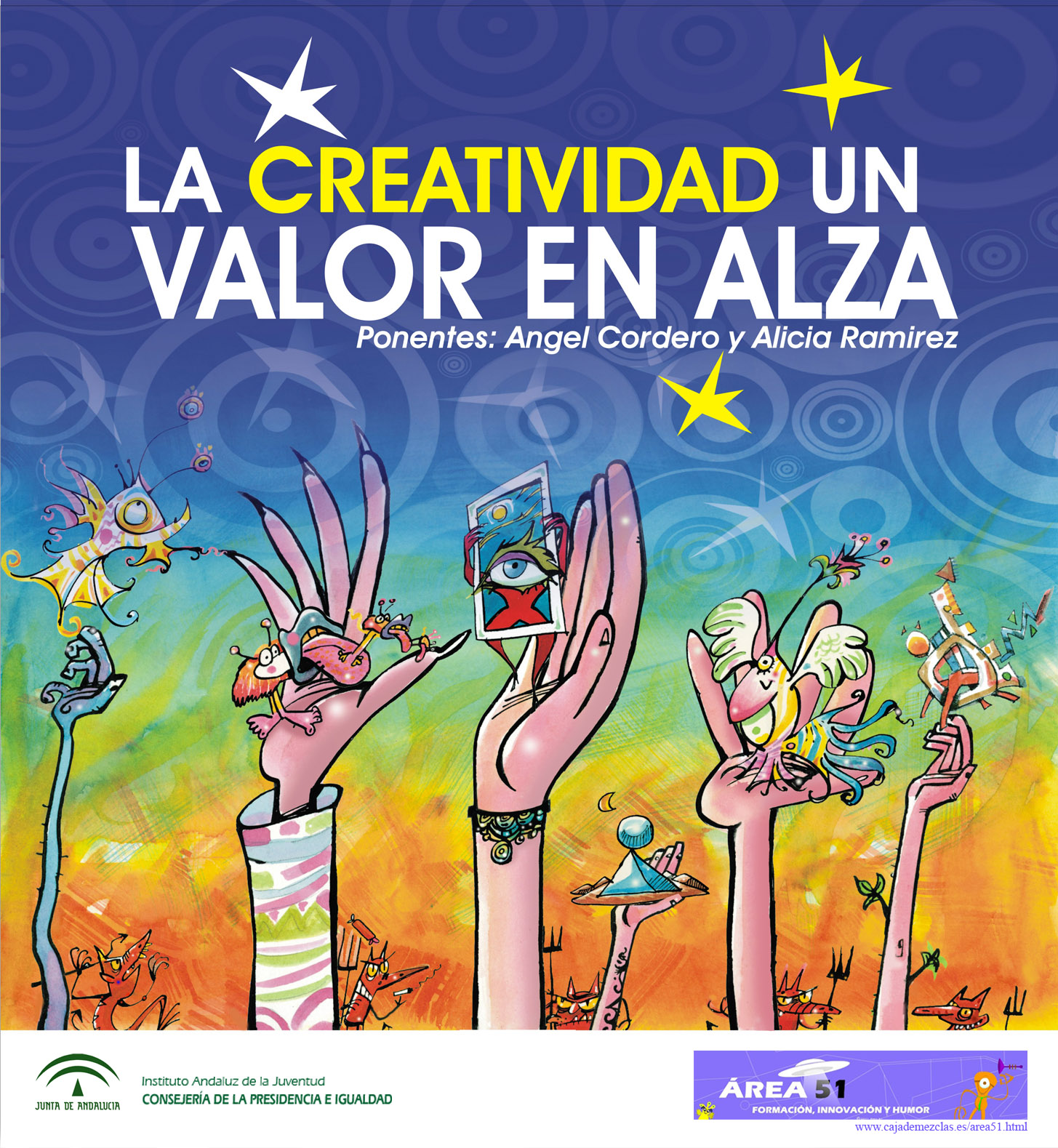 Píntate De Optimismo Y Creatividad: Área 51 Innovación Formación Y Humor: LA CREATIVIDAD UN