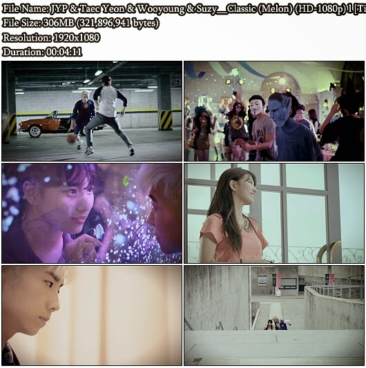 Download MV JYP &amp; Taec Yeon &amp; Wooyoung &amp; Suzy - Classic (Melon Full HD 1080p)
